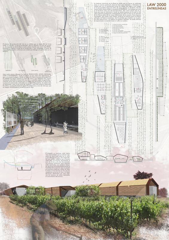 [A3N] : Landscape, Architecture & Wine Competition Winner ( Spain ) ( Honorable Mention 01 : ENTRELINEAS ) / Damián León García, Ricardo Hernández Acosta, Roberto Fuentes Rguez