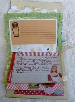 Kitschy Kitchen Recipe Album
