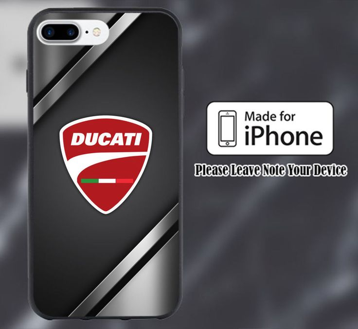 Ducati Black Metal Logo Print On Hard Plastic Case For iPhone 6/6s 7/7+ 6/6s+ #UnbrandedGeneric #Modern #Cheap #New #Best #Seller #Design #Custom #Gift #Birthday #Anniversary #Friend #Graduation #Family #Hot #Limited #Elegant #Luxury #Sport #Special #Hot #Rare #Cool #Top #Famous #Case #Cover #iPhone