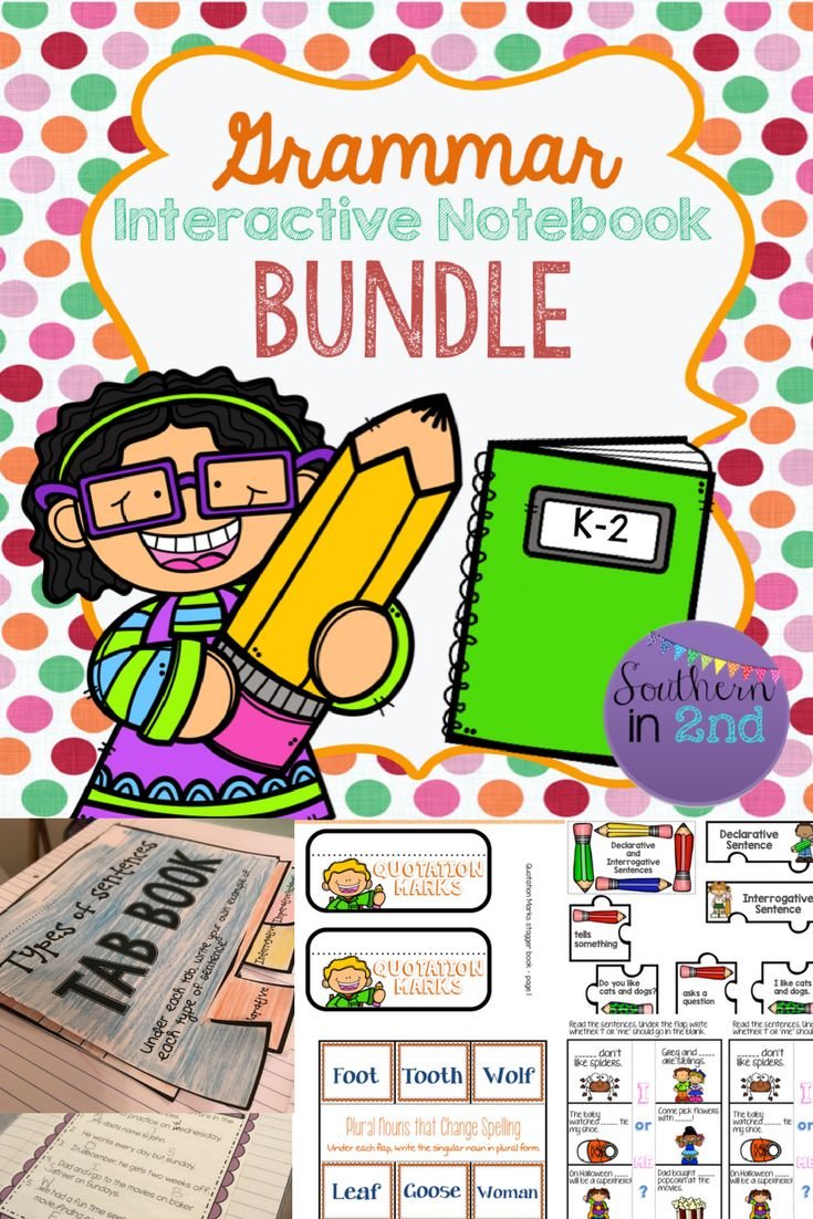 221 pages!! Year-long Grammar Interactive notebook activities!! Great for small groups or morning work! Includes sentences, nouns, pronouns, verbs, adjectives, adverbs, punctuation, and prepositions! You don't want to miss this!