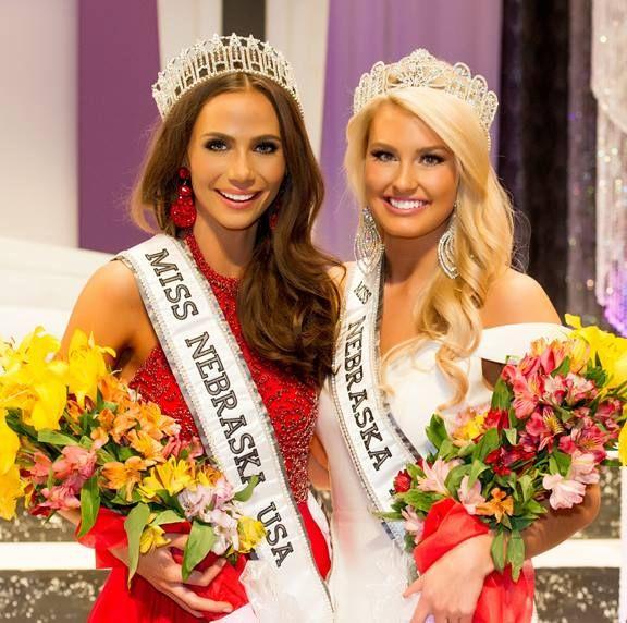Sarah Hollins - Miss Nebraska USA 2016 & Erika Etzelmiller - Miss Nebraska Teen USA 2016
