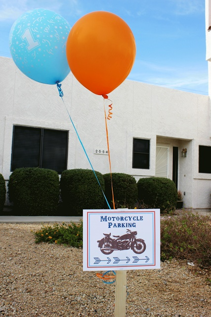 Honeybee Vintage: A Vintage Motorcycle Birthday