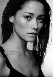 Sandrine Holt as Rei-- just need blue eyes