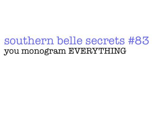 #Southern Style & Hospitality (Corona): southern belle secrets