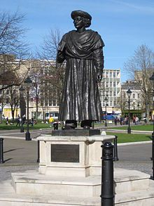 Ram Mohan Roy in Bristol, where he died and is buried.