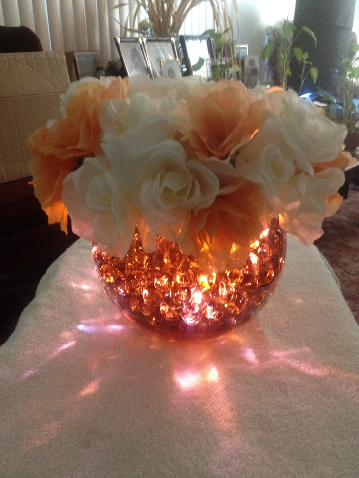 Best water centerpieces ideas on pinterest floating