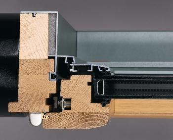 Risques condensation sur menuiseries mixtes alu bois