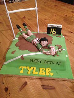 Leicester Tigers Rugby Cake 1 | by marks masterbaking