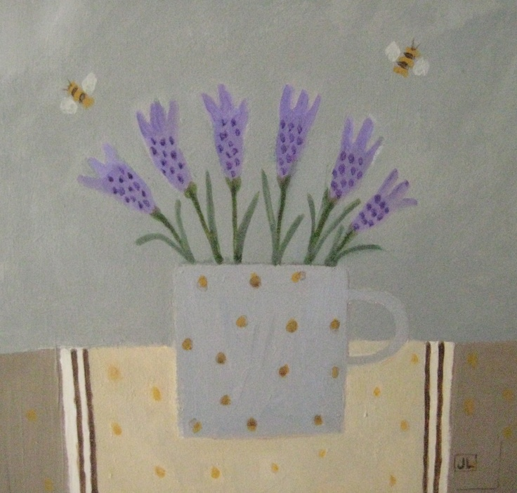 New painting 'Bees like Lavender'