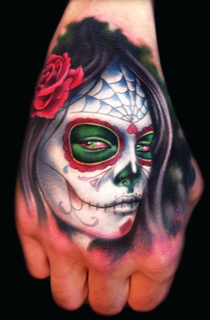 Day Of The Dead Hand Tattoo: 209 Best Images About Dias De Los Muertos...sugar Skulls