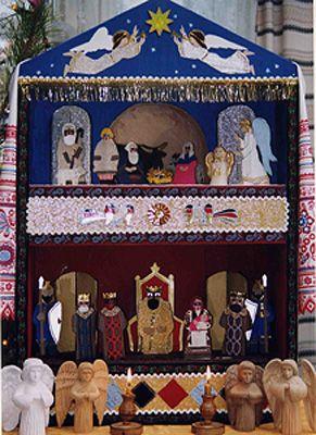 рождественский вертеп своими руками: 2 тыс изображений найдено в Яндекс.Картинках