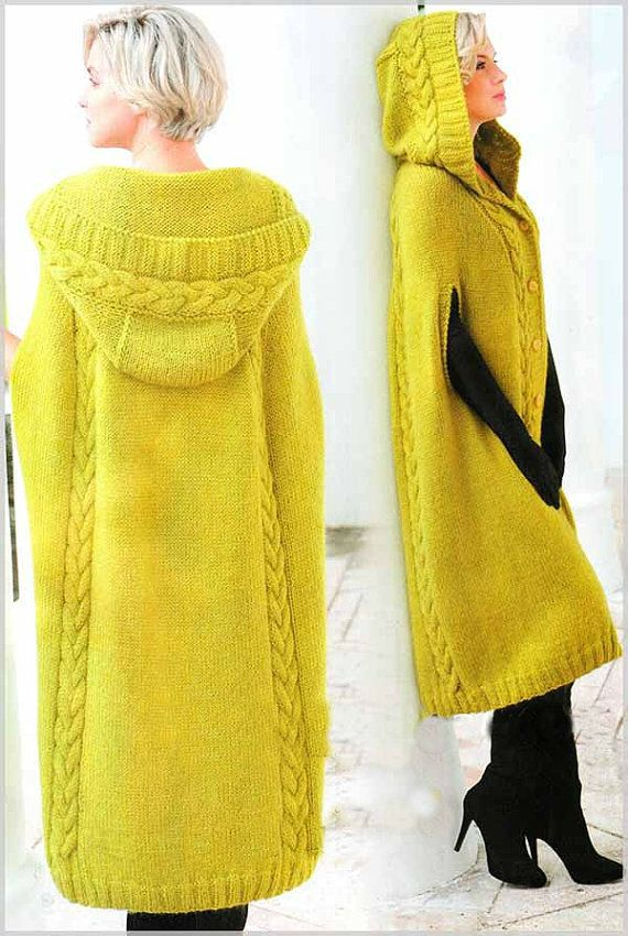poncho - cape  with hood, coat , winter clothing,gift ideas,bohemian clothing,yellow.red,gray,green,black, white,blue,brown ,,FREE SHIPPING