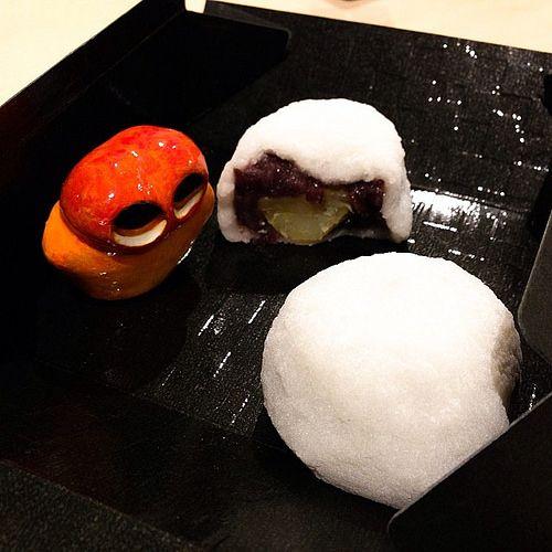 Yummy Daifuku!! #mizumushikun #yummy #japan #food #sweets #japanesefood #funny #cute