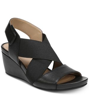 dd08b162f4c Naturalizer Cleo Wedge Sandals Women s Shoes