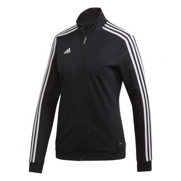 038f37c0f60 adidas Tiro19 trainingsjack dames black white | Fitness & sport ...