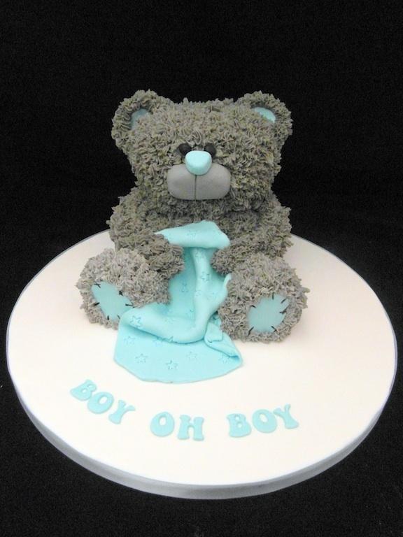 Fondant Fantastic- 3D Teddy cake