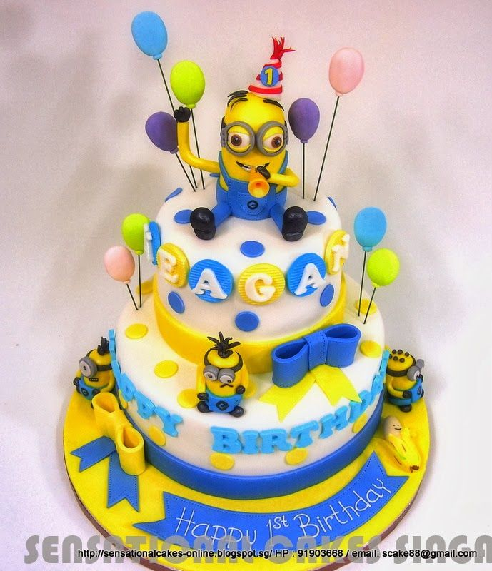 Despicable Me  Cake Designs