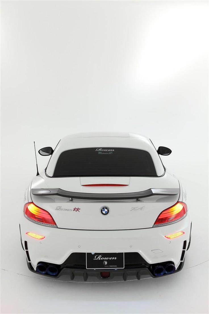 Rowen Japan застайлил BMW Z4 пакетом White Wolf