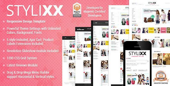 Responsive Magento Theme - Stylixx Asian Fashion - Fashion Magento