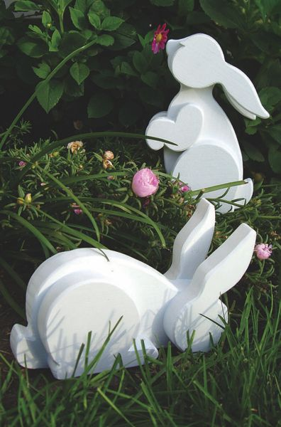 15 Woodworking Easter Projects  via TheKimSixFix.com