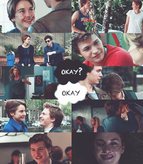 Immagine di the fault in our stars, tfios, and okay