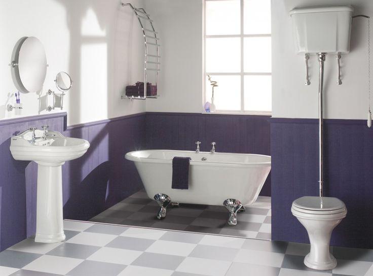 High Quality Marvelous Purple Bathroom Ideas Decorating Bathrooms Via ~ Bathroom Tile  Ideas Traditional, Purple Green Bathroom, Purple Bathroom Tiles, Purple Grey  ... Part 22