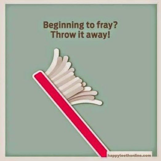 Image result for USED TOOTHBRUSH THROWN AWAY