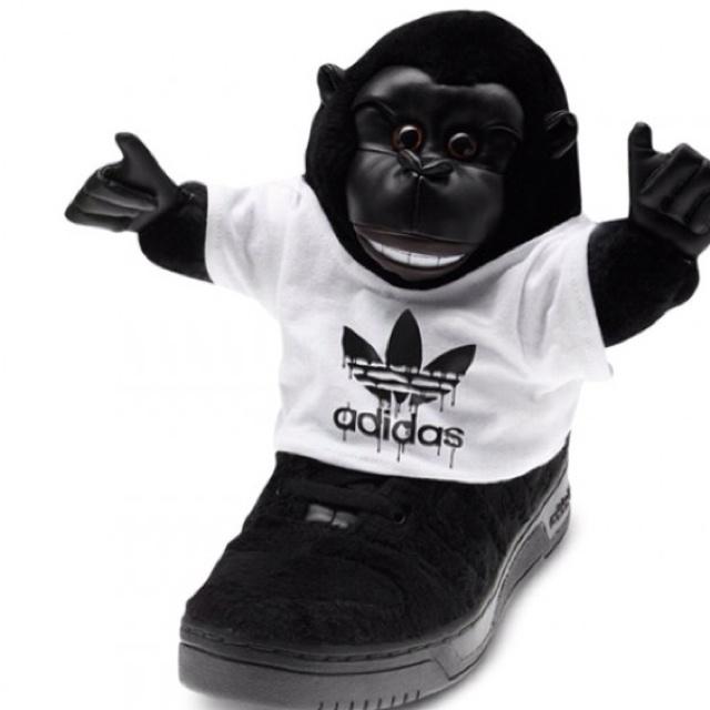 low priced 8b332 d64f9 Jeremy Scott Adidas monkey sneaks   On Your Feet   Pinterest   Jeremy scott  adidas, Adidas and Jeremy scott