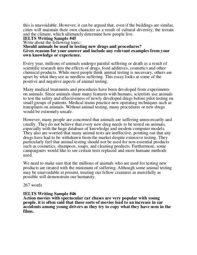 Ielt Writing Band 9 0 Sample Book 4 Academic Ielts Food Additive Essay