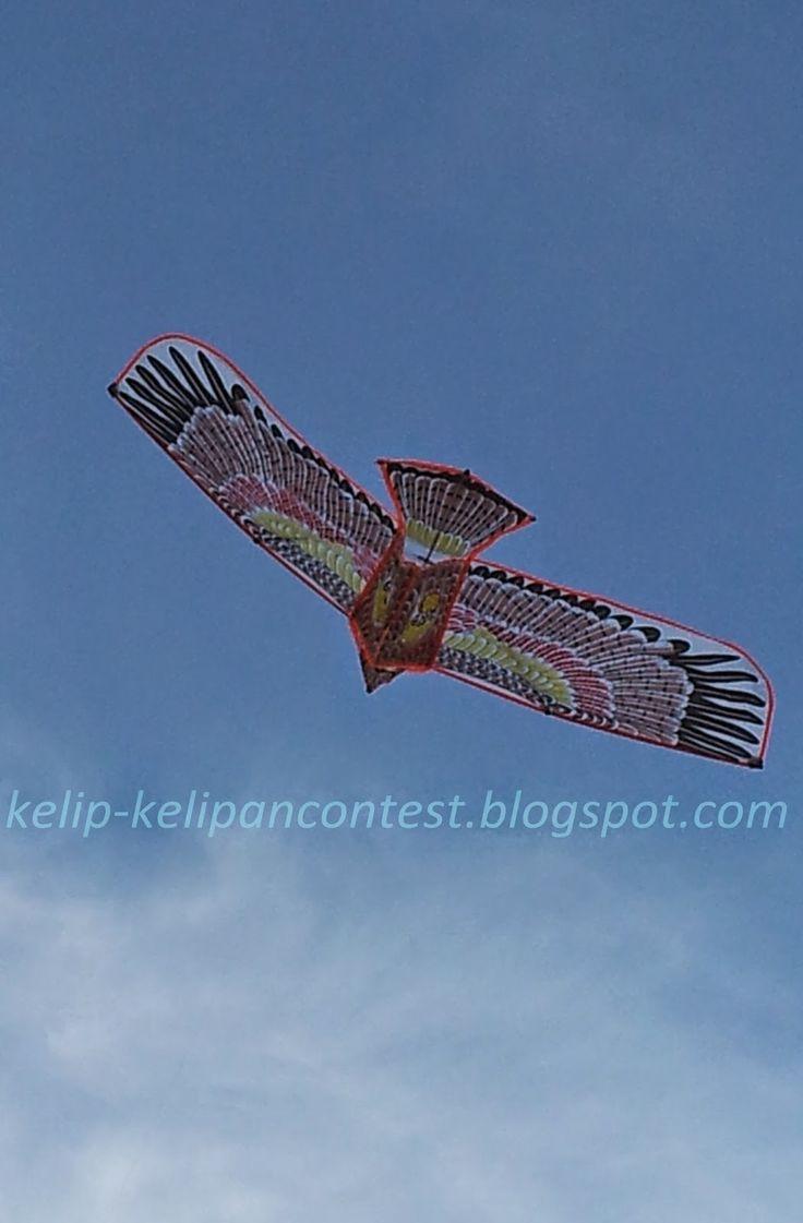 Hand made kite at Pantai Batu Burok