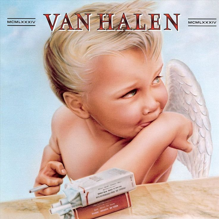 album on vinyl record for hard rock band Van Halen and one of their best selling albums. The final album that featured all four original band members. Van Halen Album Covers, 80s Album Covers, Greatest Album Covers, Classic Album Covers, Eddie Van Halen, Lps, David Lee Roth, Rock Indé, Rock And Roll