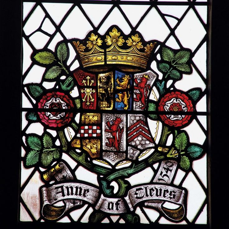 """HENRY VIII AWARDED ANNE OF CLEVES THE HONORARY TITLE OF """"THE KING'S SISTER"""" HEVER CASTLE, AN ANNUAL INCOME AND A SMALL HOUSEHOLD STAFF."""