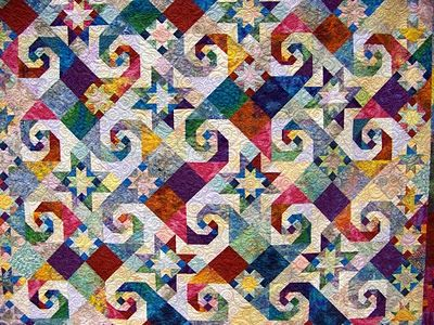 Attic Window Quilt Shop: WMQG QUILTS ON THE GRAND