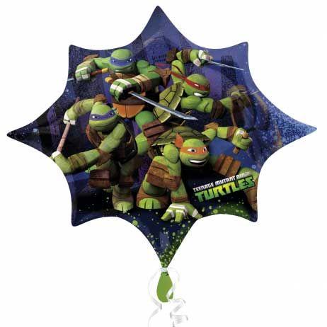 Ballon géant mylar tortue ninja pour l'anniversaire de votre enfant - Annikids