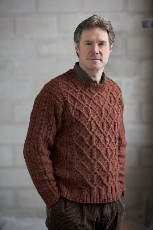 Free Mens Cable Knit Sweater Patterns : 144 best images about Knitting for Men on Pinterest Fair isles, Free patter...