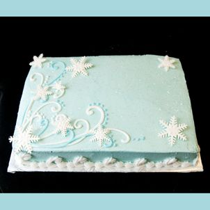 winter onederland sheet cake - Google Search