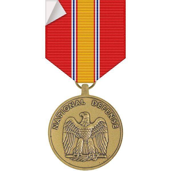National defense service medal sticker