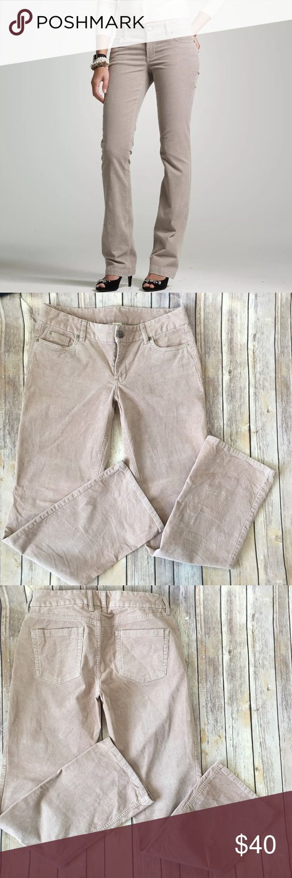"J.Crew Favorite Fit Boot Cut Stretch Cords Pants Tag Size - 8 Waist Measured Across - 16.5"" Inseam - 32"" Rise - 9"" Great used condition! Always open to reasonable offers! J. Crew Pants Boot Cut & Flare"