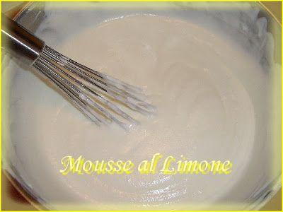 Menta e Cioccolato: Mousse al Limone con Meringa Italiana...squisita!!!!