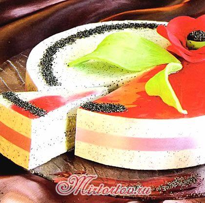 маковый торт - рецепт с фото