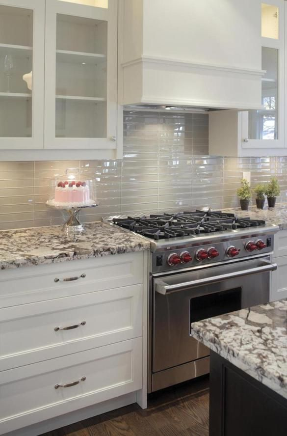 Stacked Tiles   Delicatus Ice Granite? Top Trends In Kitchen Remodeling    The Boston Globe