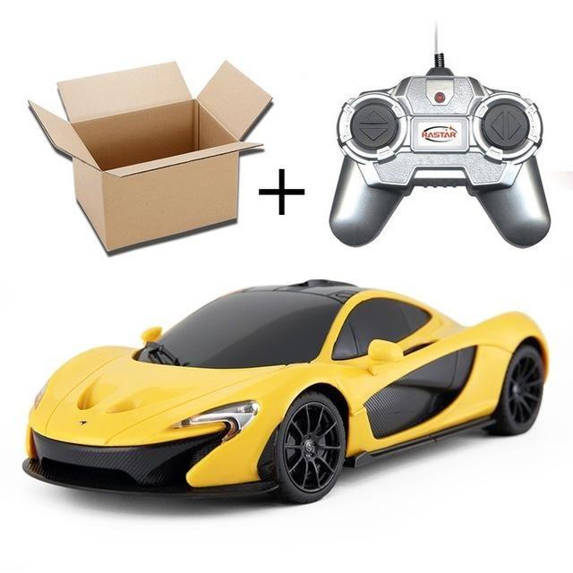 Licensed 1/24 RC Car Remote Control Toys Cars On the Radio Controlled Remote Control Cars Toys For Boys Mclaren P1 75200