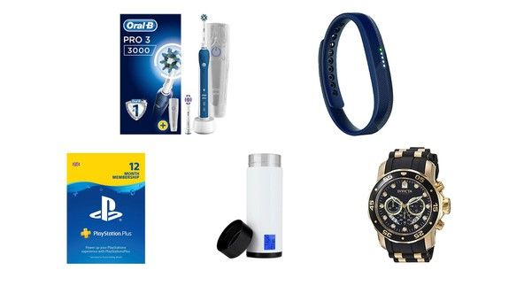 Amazon UK daily deals for March 2: Save on Oral-B electric toothbrushes Fitbit Flex 2 wristbands and PlayStation Plus