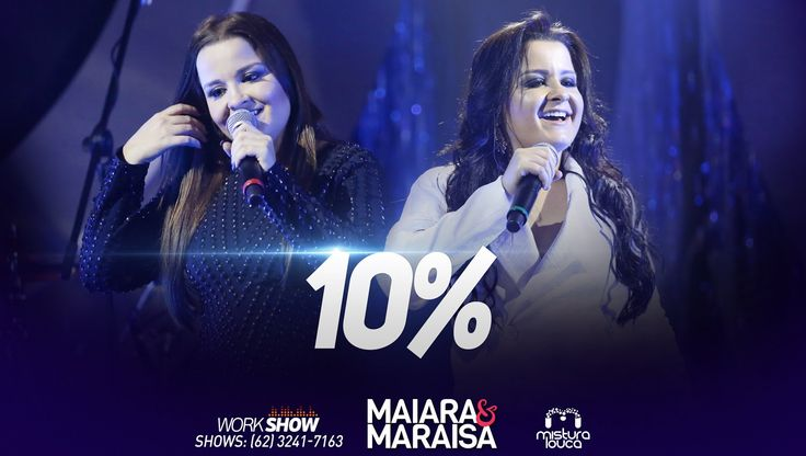 Maiara & Maraisa - 10% (Ao Vivo em Goiânia)  Fala ai Goiania forever!!! ~Sol Holme~