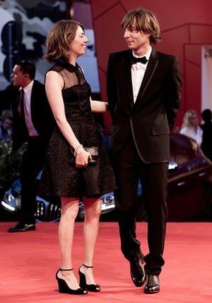 Coppola with her husband, Phoenix frontman Thomas Mars.