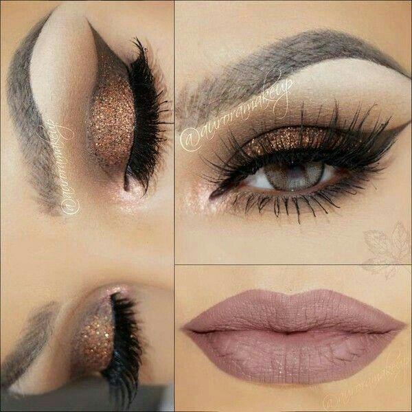 Si tienes un evento por la noche, resalta con este hermoso maquillaje en tonos…