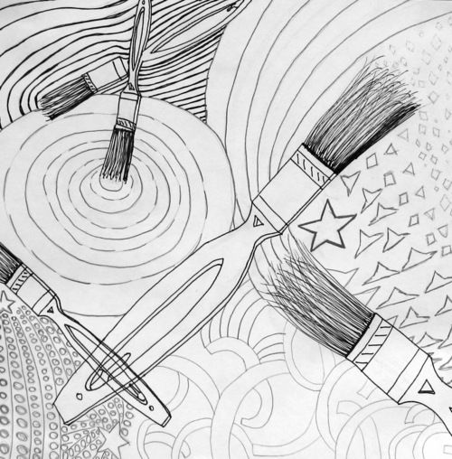 Line In Visual Art : Best elementary art drawing images on pinterest
