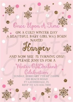 Pinterestteki 25den fazla en iyi Winter onederland invitations