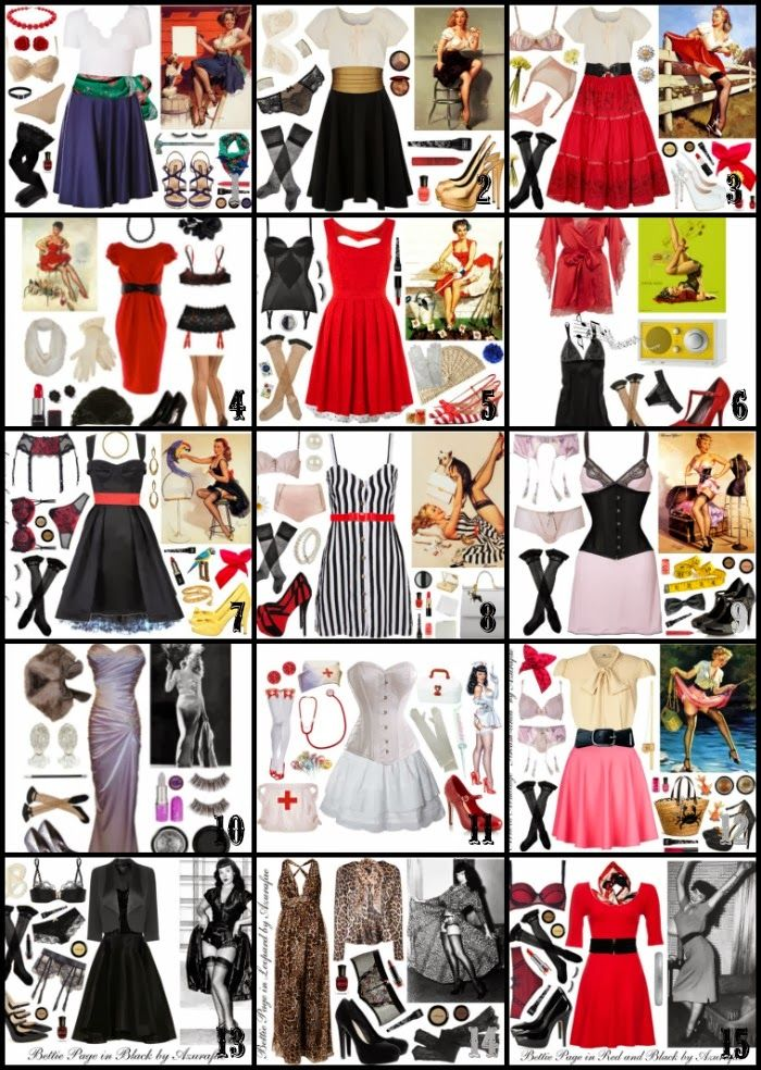 Crafty Lady Abby: HALLOWEEN: 15 Pin Up Costumes