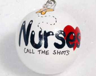 Nurse Ornament by putzigbaer on Etsy